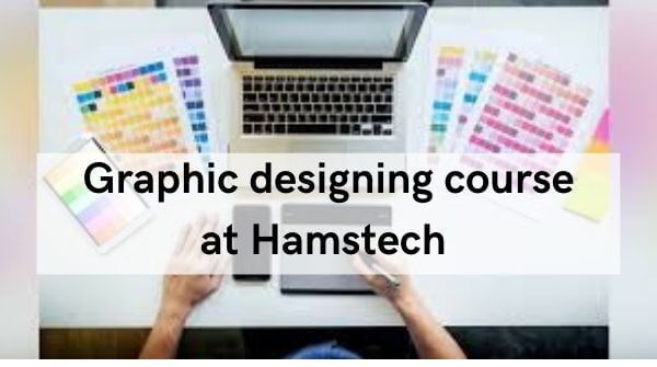 This is an image for graphic designing course in Hyderabad at Hamstech College.