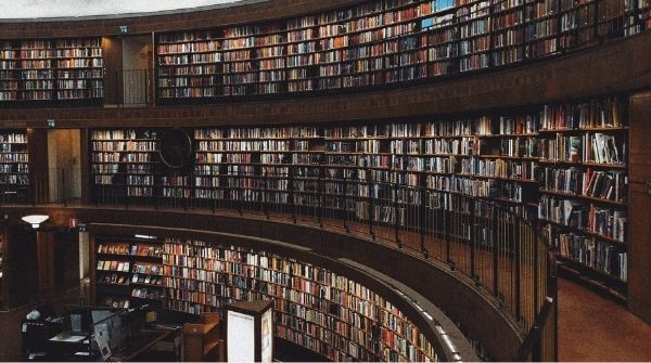 Well-equipped libraries at university
