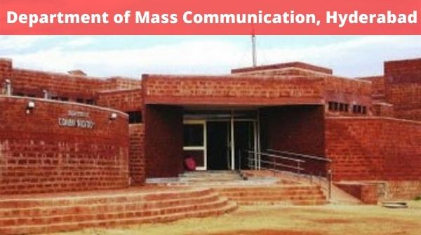 Mass communication colleges in Hyderabad, check department of mass communication