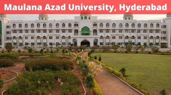 Check Maulana Azad university with complete details