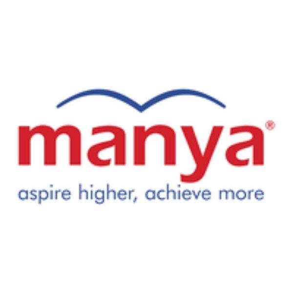 logo of manya group gre prep