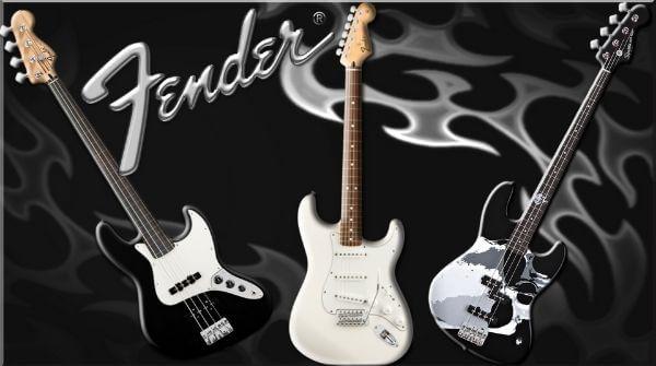 FENDER- GUITAR BRAND