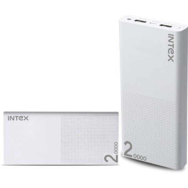 Intex IT-PB 20K Poly 20000mAh Power Bank supply
