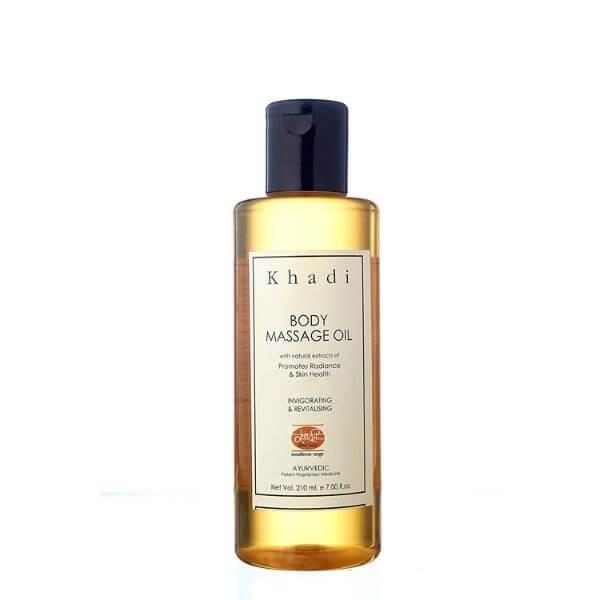 Khadi Mauri herbal oil.