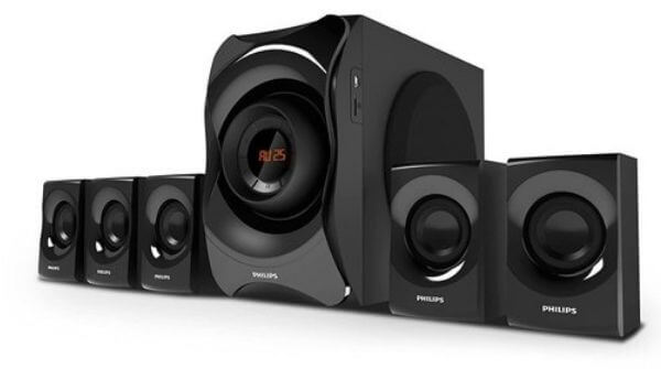 Philips SPA8000B94 Channel Multimedia Speakers System, a best home theater 5.1
