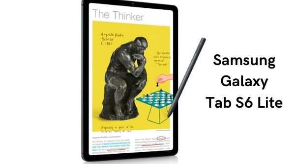 The best gaming tablet - Samsung Galaxy Tab S6 Lite one of our favorite.