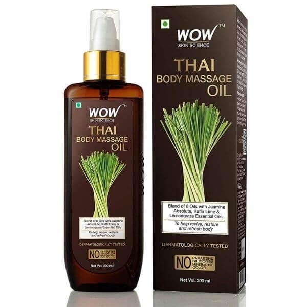 Wow skin Thai massage oil