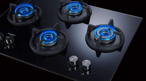 Whirlpool 4 Burner gas stove