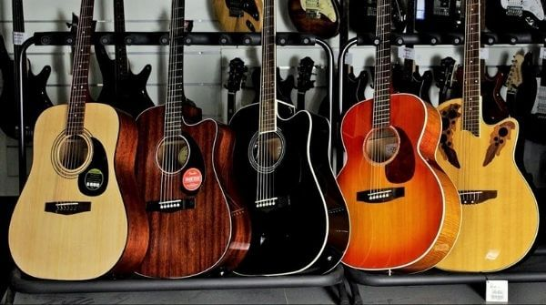Acoustic-Electric Guitars for beginners